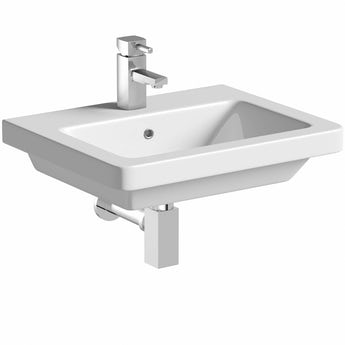 Mode Verso wall hung basin 550mm