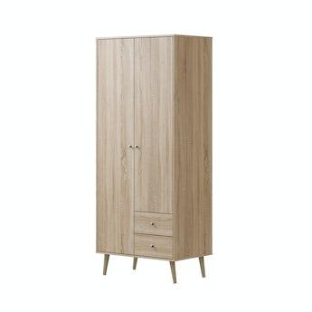 MFI Helsinki Oak combination wardrobe