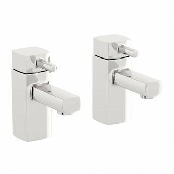 Osca basin pillar taps offer pack