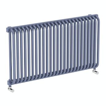Terma Delfin pigeon blue horizontal radiator 540 x 1020