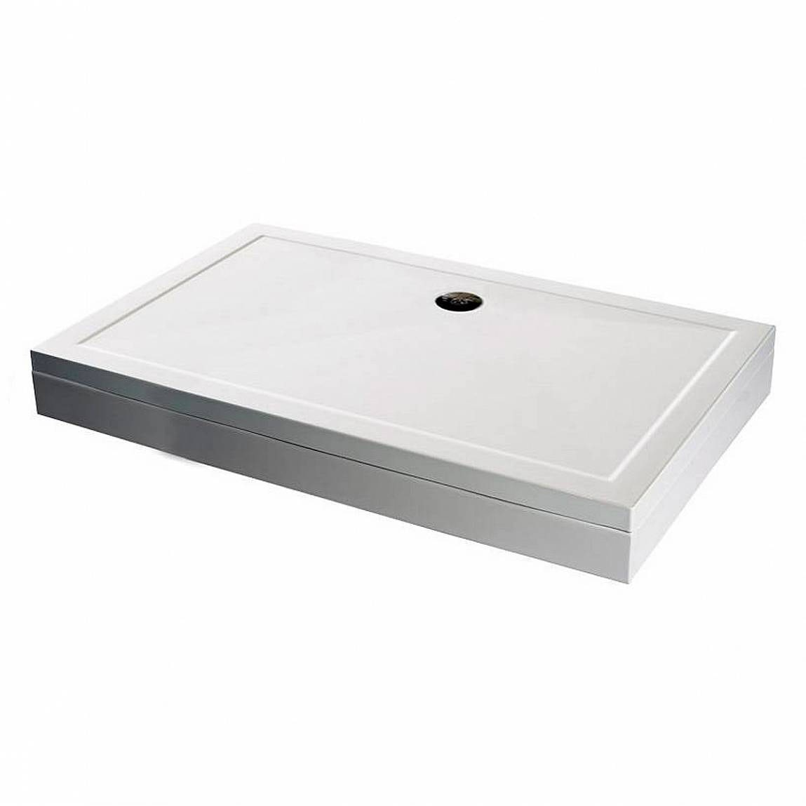 rectangular stone shower tray riser kit 800 x 700. Black Bedroom Furniture Sets. Home Design Ideas