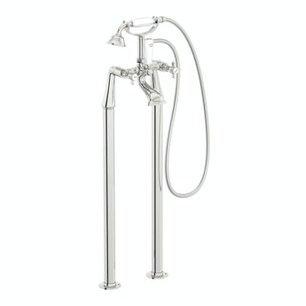 Hampshire bath shower mixer and standpipe pack