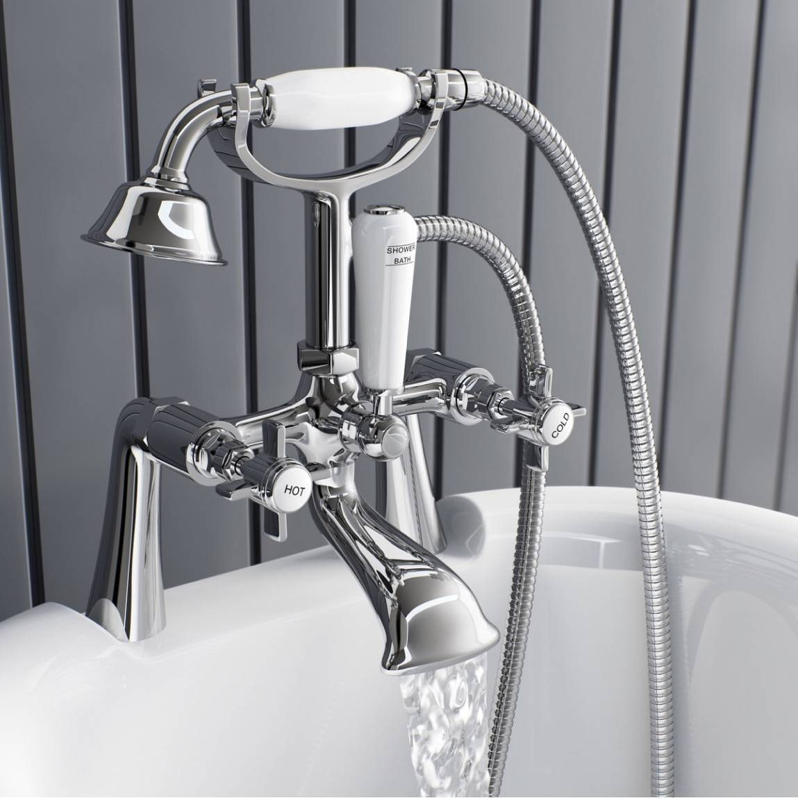 hampshire bath shower mixer tap victoriaplum com thermostatic bath shower mixer tap from taps uk