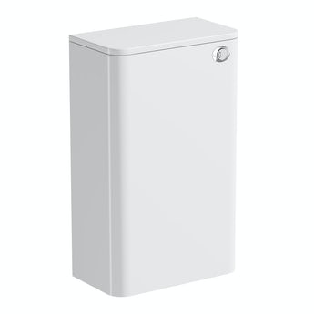 Mode Planet white back to wall toilet unit