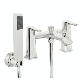 Wave bath shower mixer tap offer pack