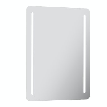 Mode Clarity rectangular LED mirror with demister