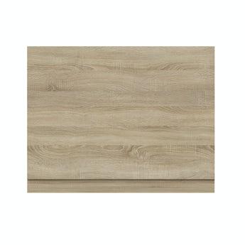 Arden oak bath end panel 680mm
