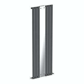 Mode Lois anthracite vertical radiator with mirror 1840 x 620