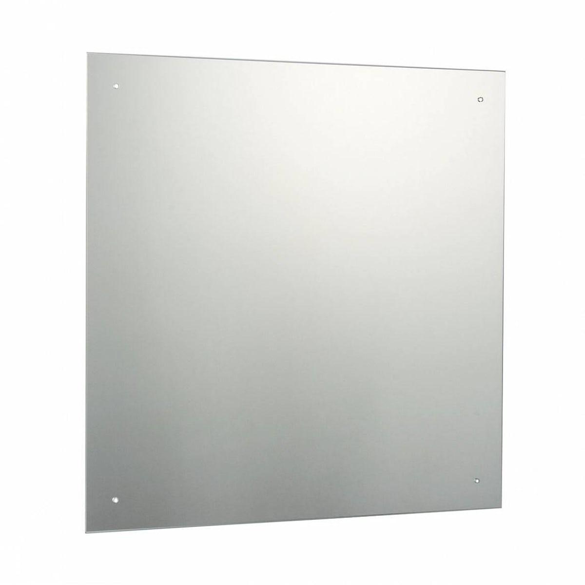 Bevelled Bathroom Mirror Square Bevelled Edge Drilled Mirror 60x60cm Victoriaplumcom