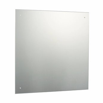 Square bevelled edge drilled mirror 60cm x 60cm