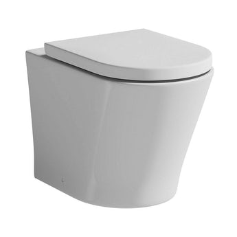 Mode Arte back to wall toilet with luxury soft close toilet seat