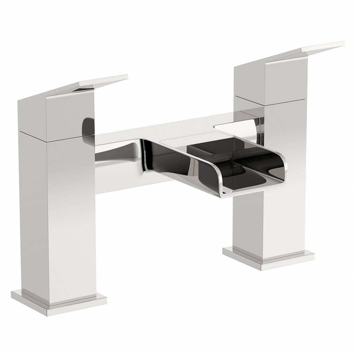 Escala basin and bath mixer pack for Waterfall delivery