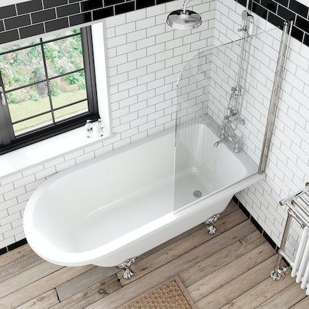 the bath co shakespeare freestanding shower bath and bath 1000 ideas about shower screen on pinterest bath shower