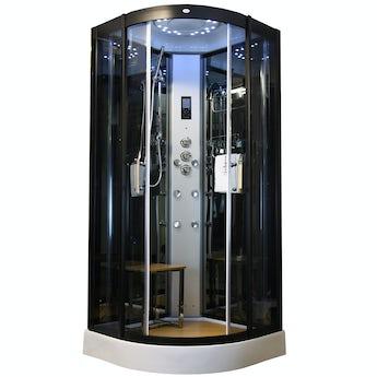 Insignia quadrant steam shower cabin 900 x 900