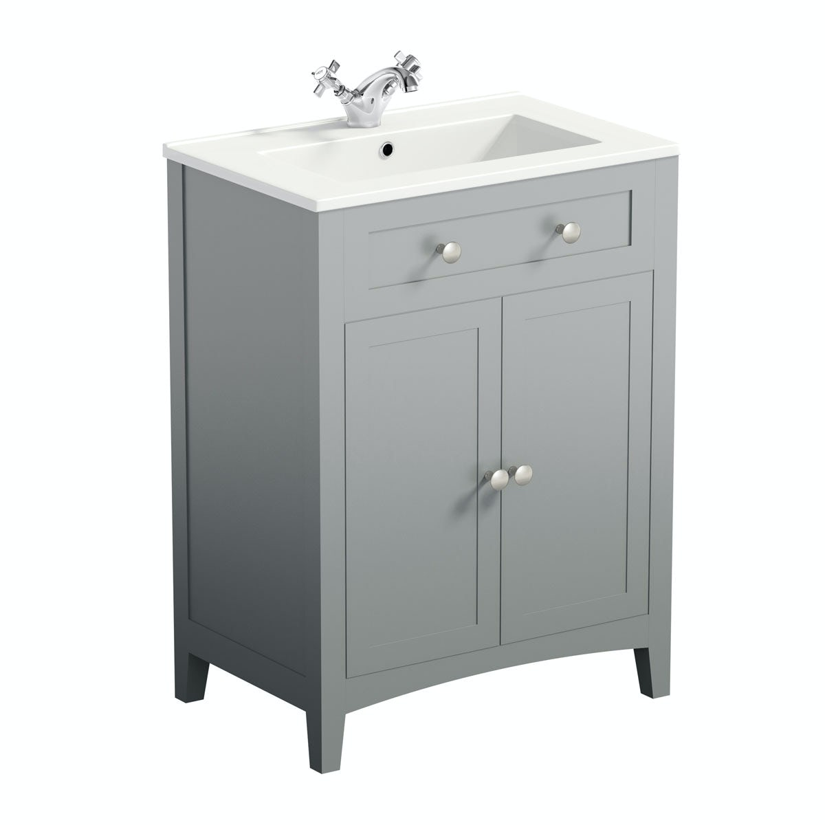 Bathrooms Design Ideas The Bath Co Camberley Grey Vanity Unit With Basin 600mm