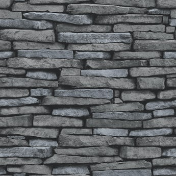 Fine Decor slate sidewall silver