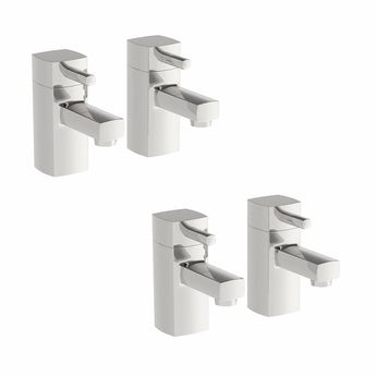 Osca basin and bath tap pack