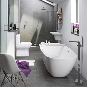 Mode Fairbanks freestanding bath suite