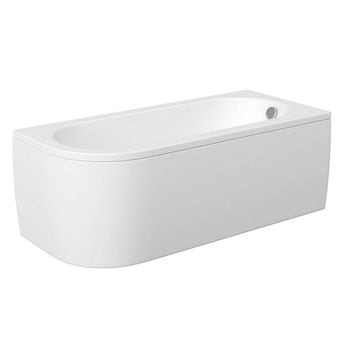 Mode Cayman D shaped right handed single ended bath with panel