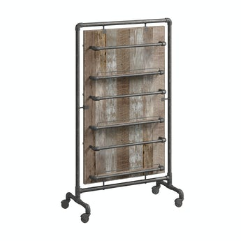 Reeves Sawyer wide storage rack