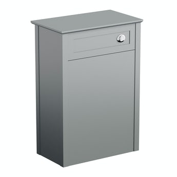 The Bath Co. Camberley grey back to wall toilet unit