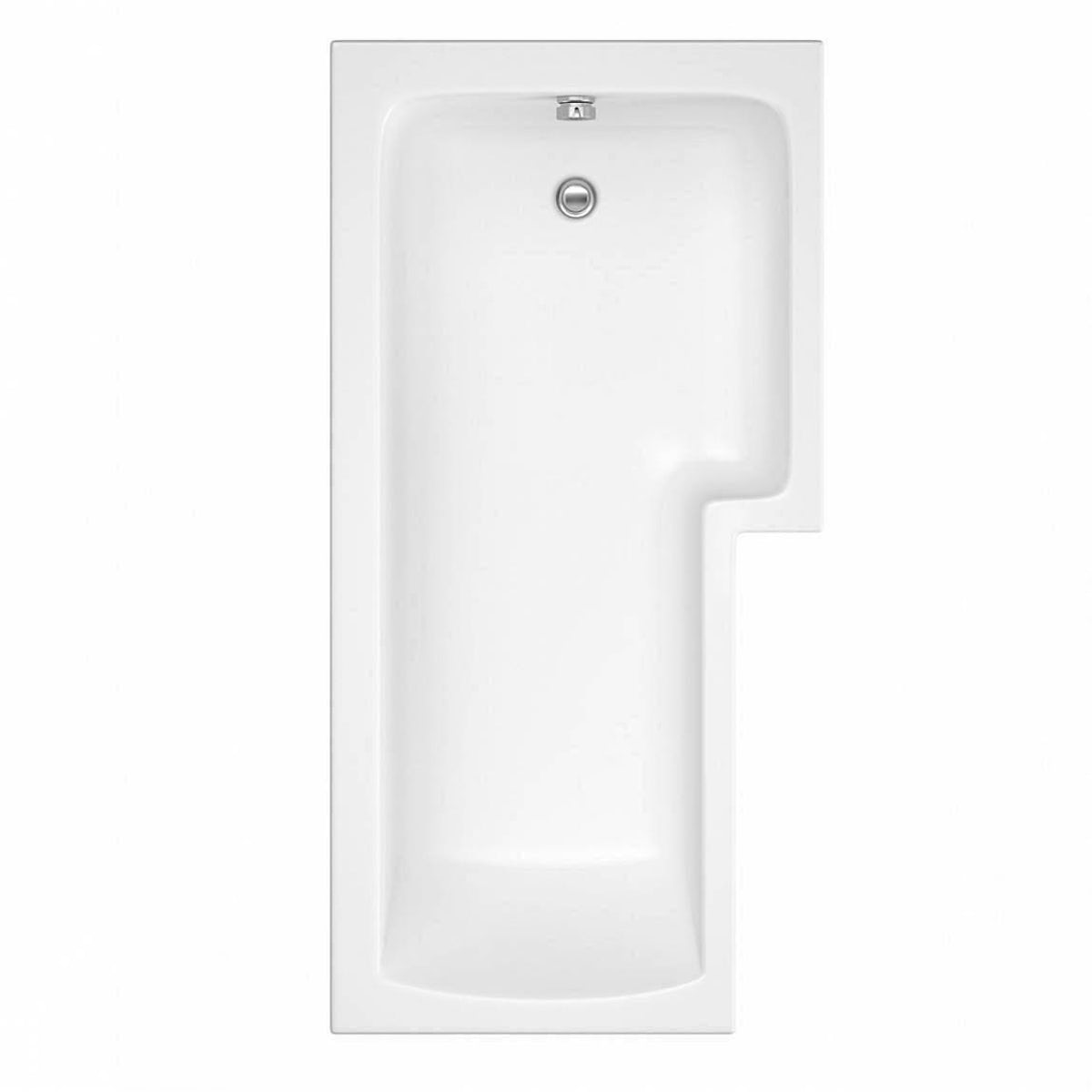 Boston Shower Bath 1700 X 850 Rh Inc 8mm Hinged Screen