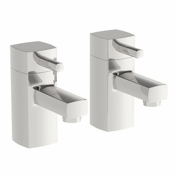 Osca bath pillar taps offer pack