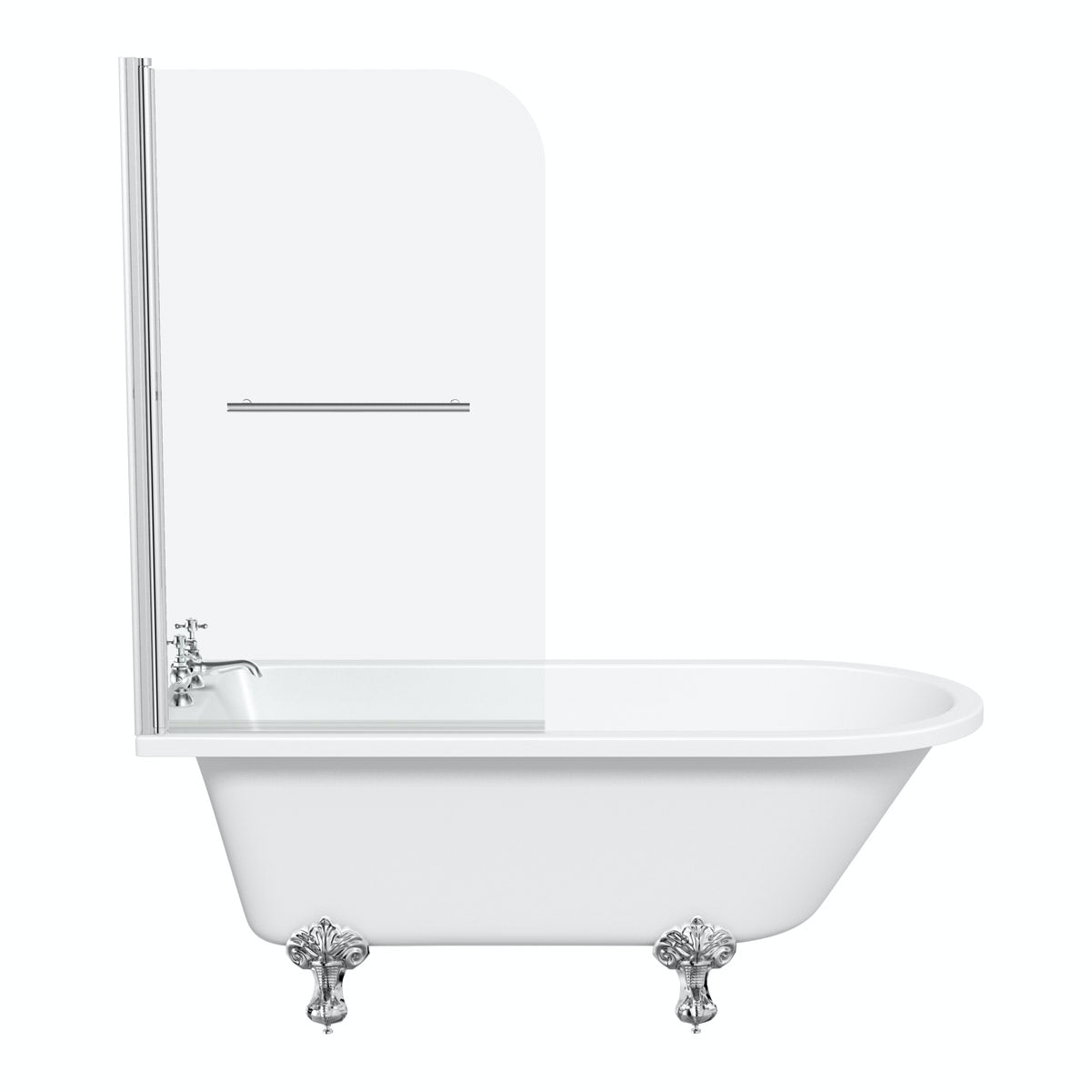 the bath co shakespeare freestanding shower bath and bath freestanding roll top bath with circular shower curtain in
