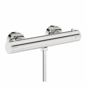 Cyclone thermostatic shower bar valve