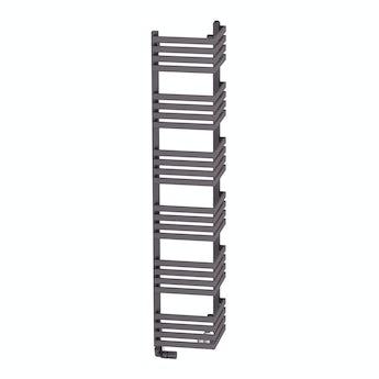 Terma Outcorner modern grey heated towel rail 1545 x 300