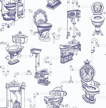 Graham & Brown Loo loo wallpaper