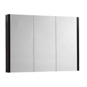 Odessa wenge 3 door bathroom mirror cabinet