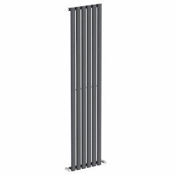 Lava single vertical radiator 1600 x 360 offer pack