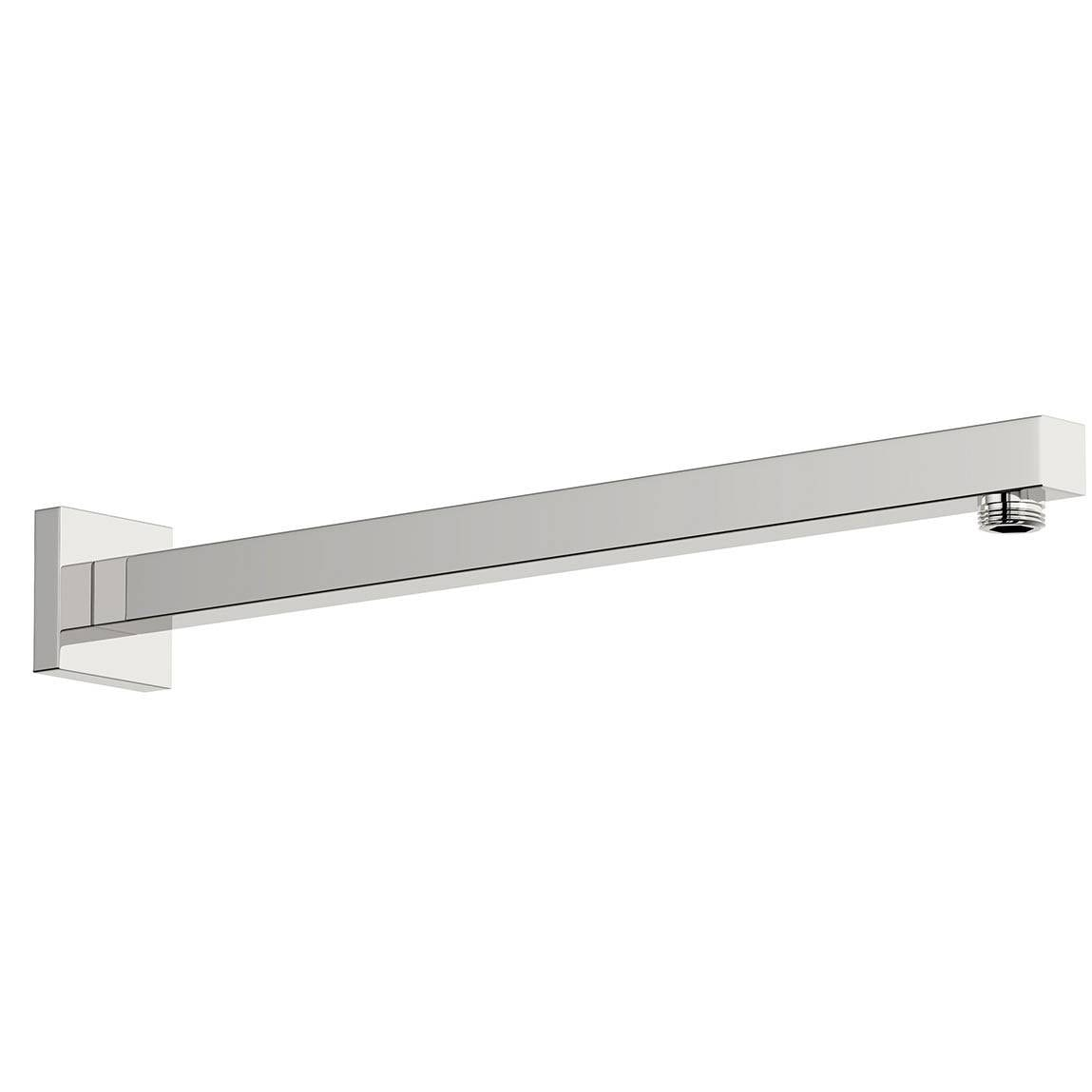 Square wall shower arm 400mm