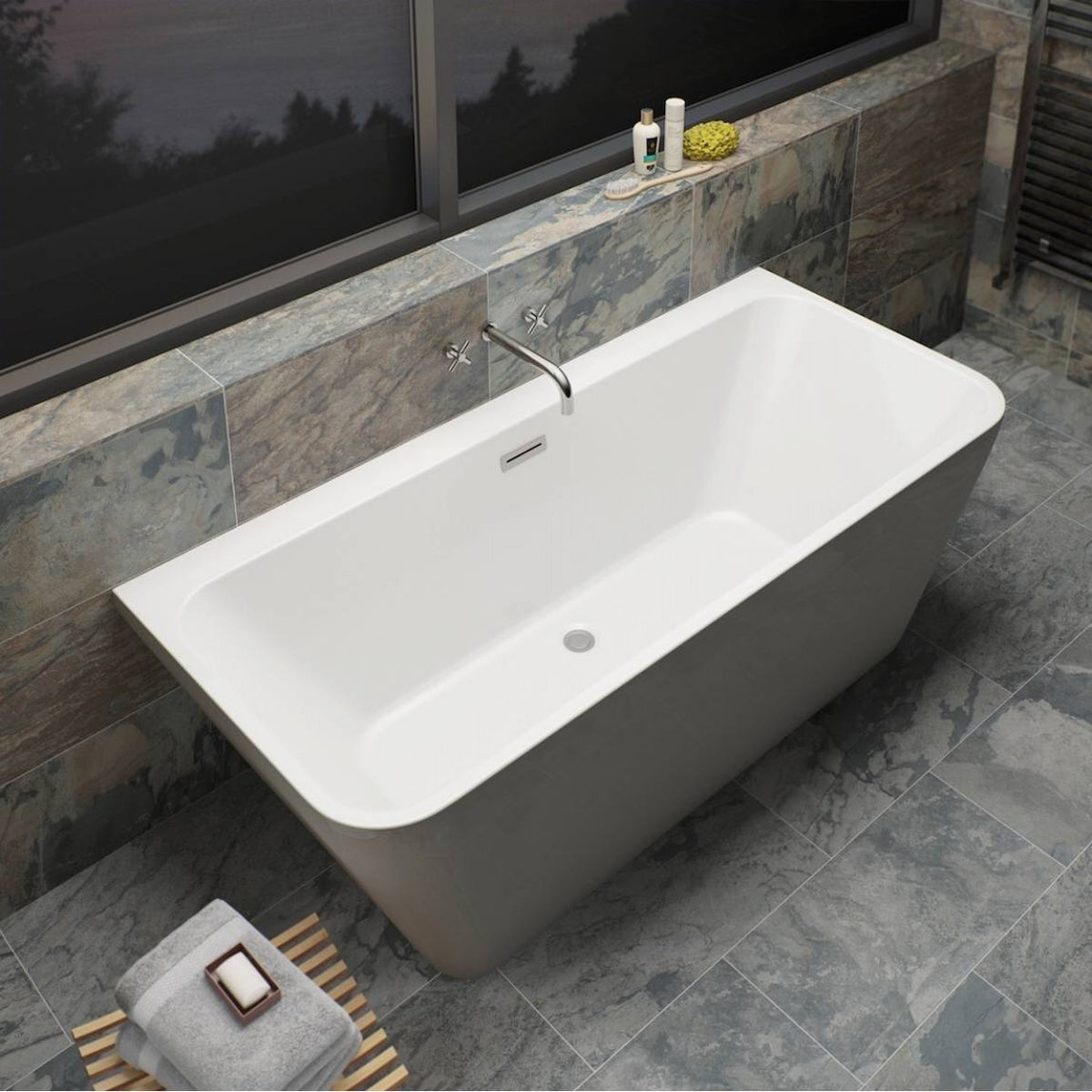 Verso Back To Wall Bath Special Offer Victoriaplum Com