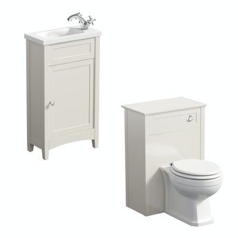 The Bath Co. Camberleyivory cloakroom furniture suite