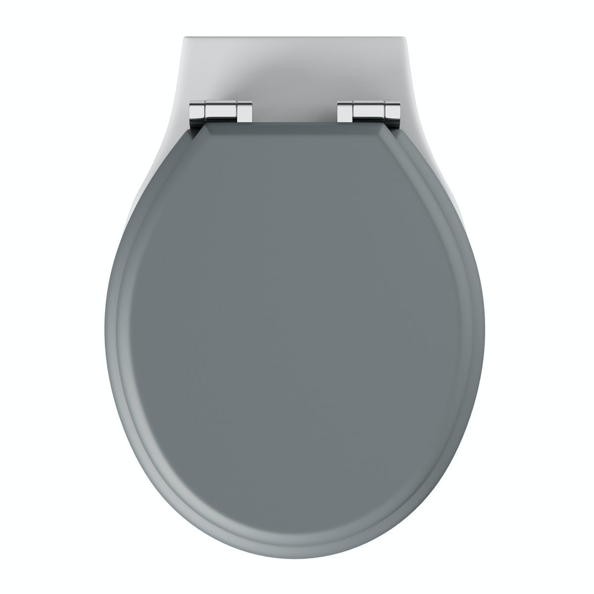Winchester Back To Wall Toilet Inc Grey Soft Close Seat