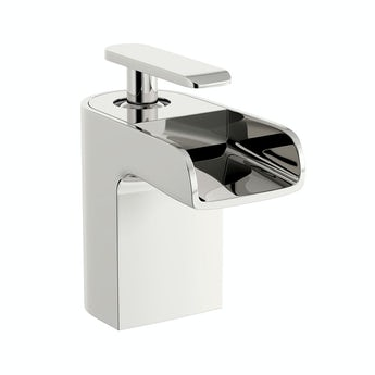 Mode Reinosa waterfall basin mixer tap