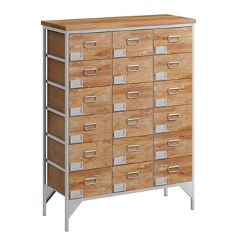 Reeves Sawyer 18 drawer apothecary chest