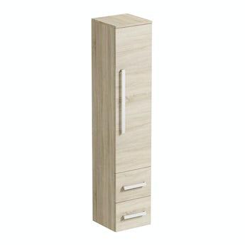 Arden oak wall cabinet