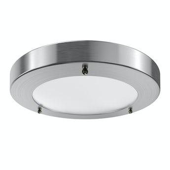 Llum large round flush bathroom ceiling light