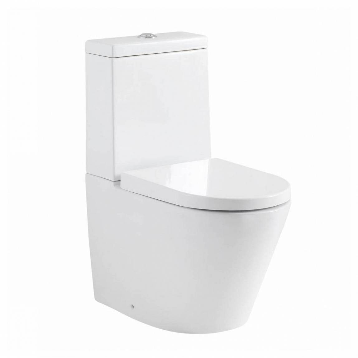 demar close coupled toilet with soft close toilet seat. Black Bedroom Furniture Sets. Home Design Ideas