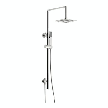Mode Minimalist waifer square shower riser kit