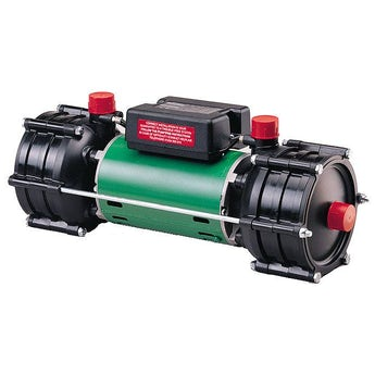 Salamander RHP100 3.3 bar twin shower pump
