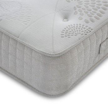 MFI Single 1000 pocket orthopaedic mattress with memory foam