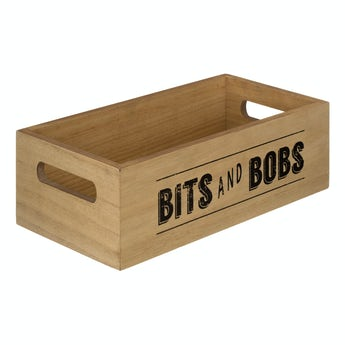 Manhattan natural finish storage box