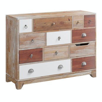 Reeves Weston natural 12 drawer chest