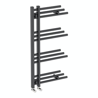 Mode Nessen anthracite heated towel rail 950 x 500 offer pack