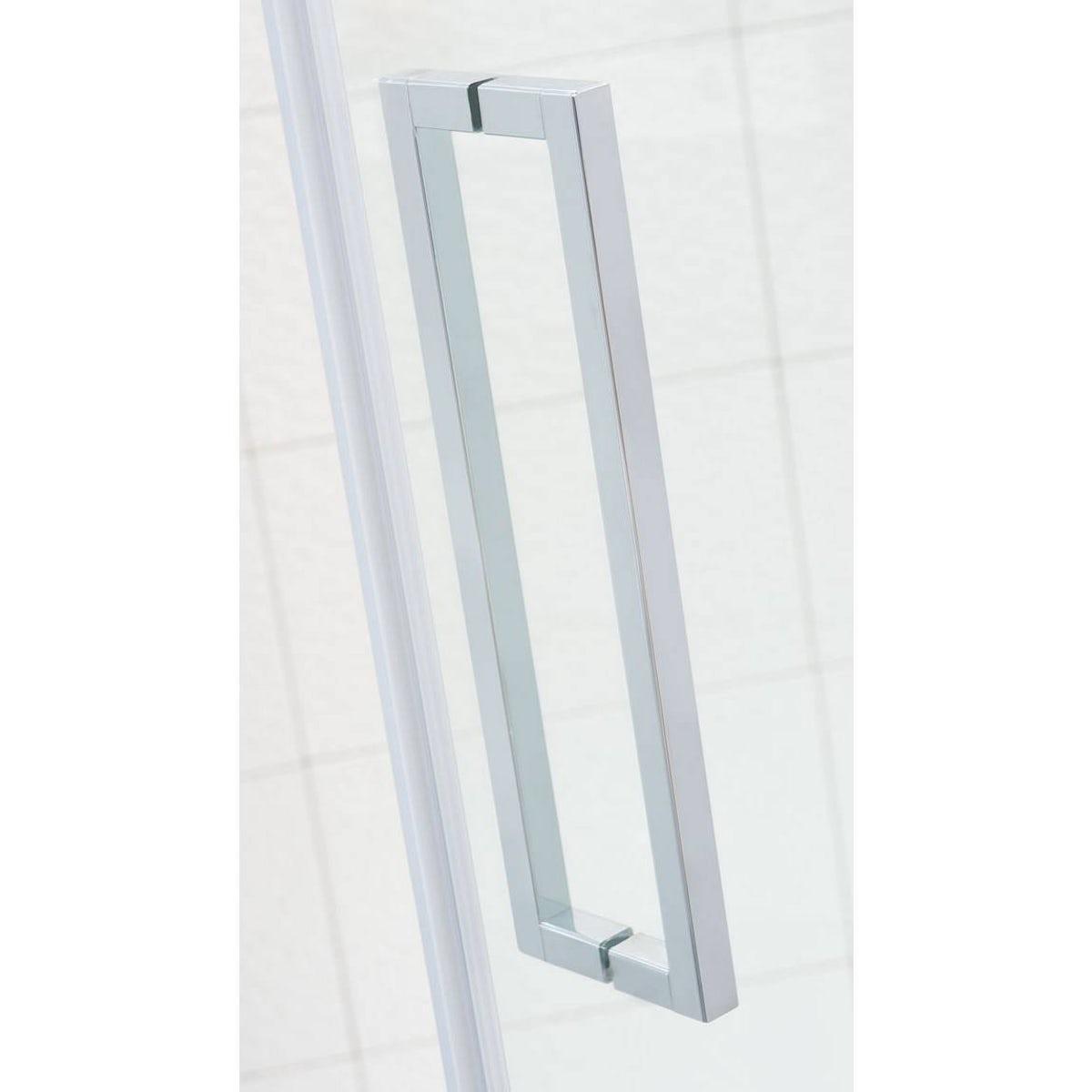 Mode luxury 8mm left handed frameless hinged shower door for 1200 shower door 8mm glass