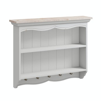 Reeves Austin french grey wall storage rack